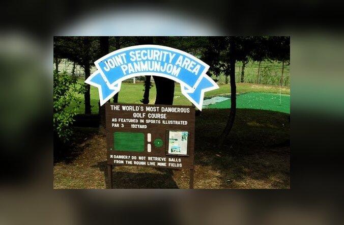 Golf ehtsal miiniväljal: rahuvalvajate arusaam plahvatuslikult põnevast meelelahutusest