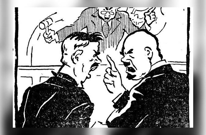 Korralagedus Toompeal, ehk kuidas poliitikud kahekümnendatel Riigikogus solvanguid jagasid!