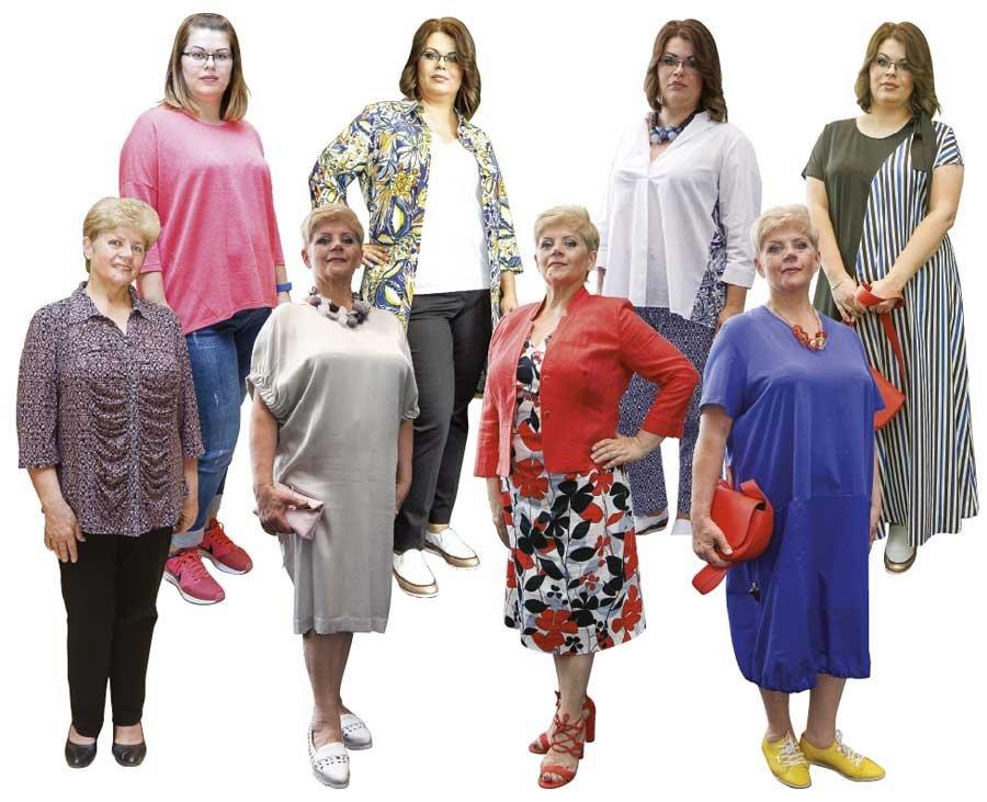 ee874dfe73e8 Учимся одеваться  как подобрать наряды дамам, которых принято считать  полными
