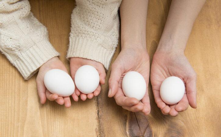 Huvitav: lastel, kellel on toore muna suhtes allergia, ei pruugi see ilmneda keedetud muna suhtes