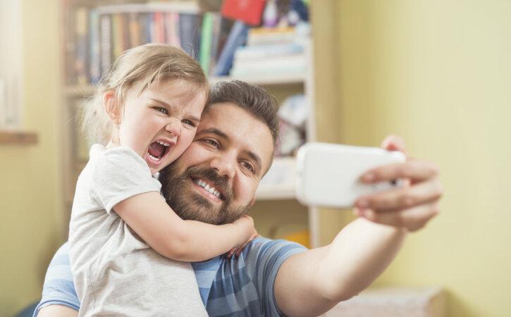 Kuus väikest märki, et sinu mees on tõepoolest armastav isa