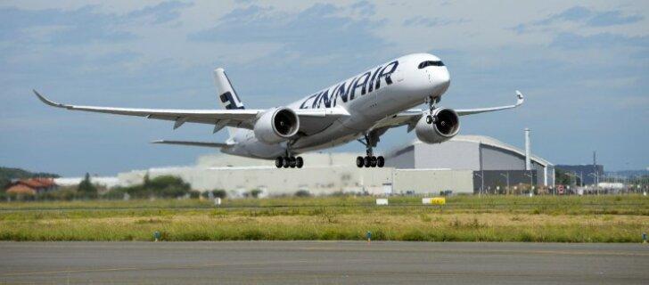Finnairi ja Euroopa esimene Airbus A350 XWB jõudis koju