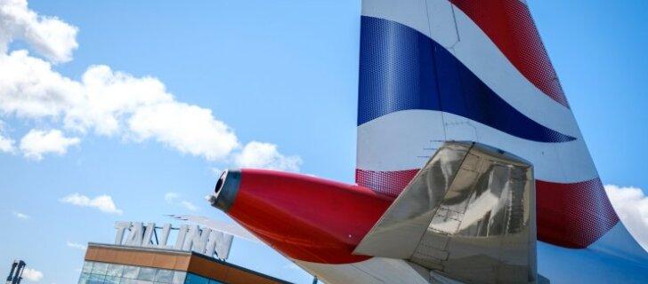 ФОТО: British Airways совершил первый рейс в Таллинн