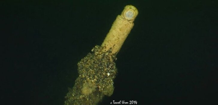 Hiiumaa lähistelt leitud allveelaeva üks osa