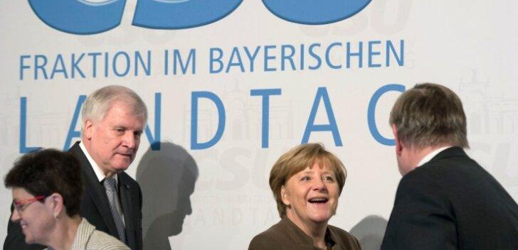 Pagulaste vastuvõtmise ülempiiri kehtestamine Austrias pani Merkeli uue surve alla