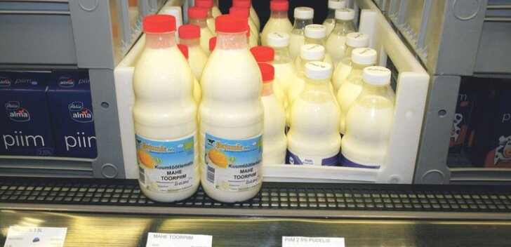 Piimakvoodi täitmisest jäi natukene puudu