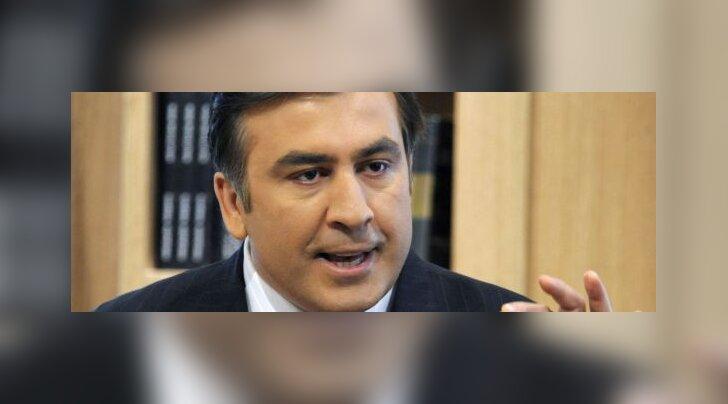 Saakašvili sõidab NATO liikmelisust manguma