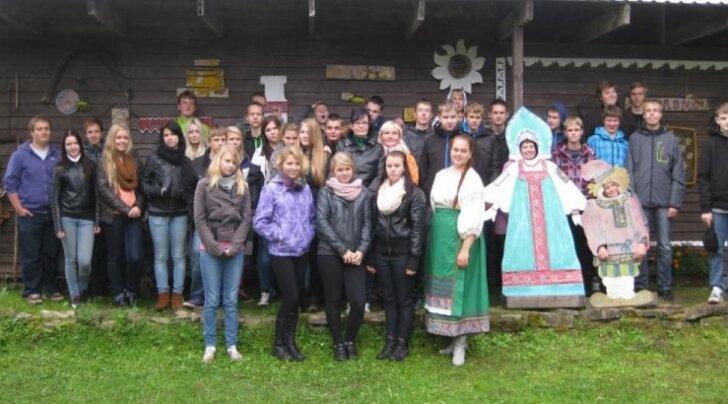 Paikuse kooli õpilased käisid vene kultuuri avastamas