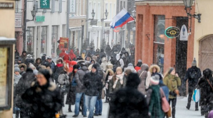 Möödunud laupäeval Tallinna vanalinnas