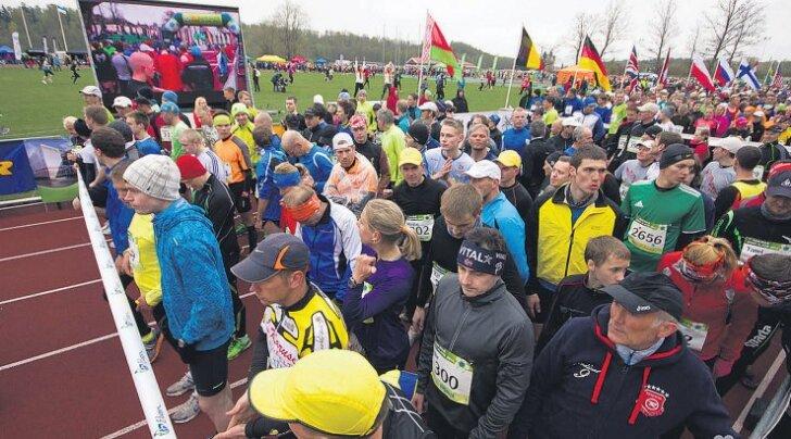 Suurjooks ümber Viljandi järve liigub taas osalejate rekordi suunas