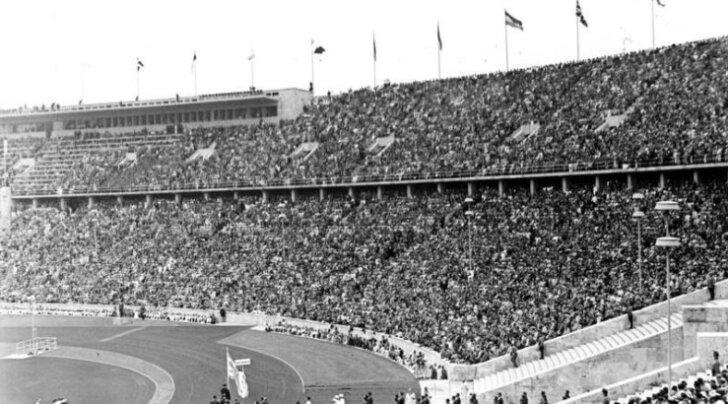 Kui Hitler avas 1936. aasta olümpiamängud, siis prantslased saluteerisid ülestõstetud parema käega