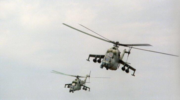 Venemaa eitab helikopterite tarnimist Süüriasse