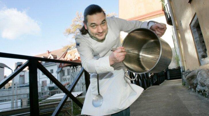 Suri tuntud telekokk Rainer Härm <em>alias</em> Jazz
