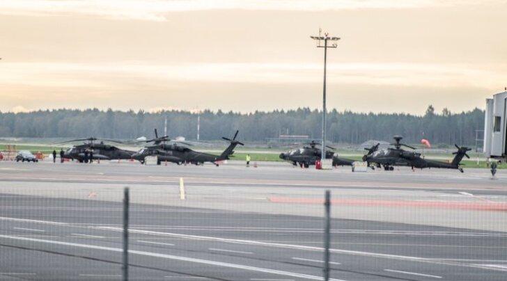 USA helikopterid Tallinna lennujaamas