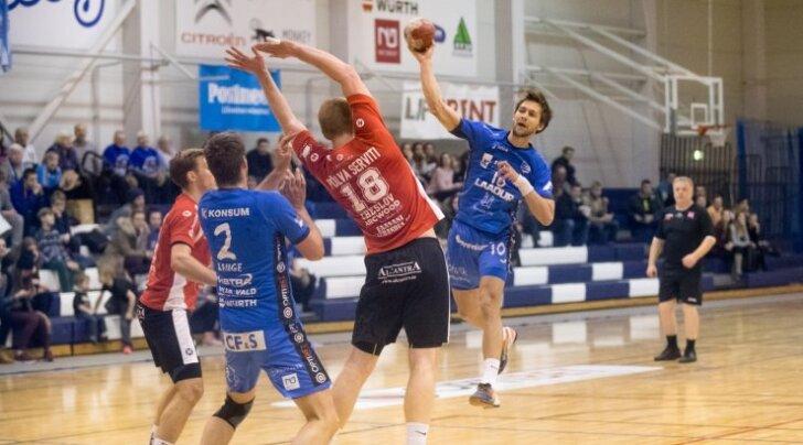 Käsipall HC Kehra vs Põlva Serviti