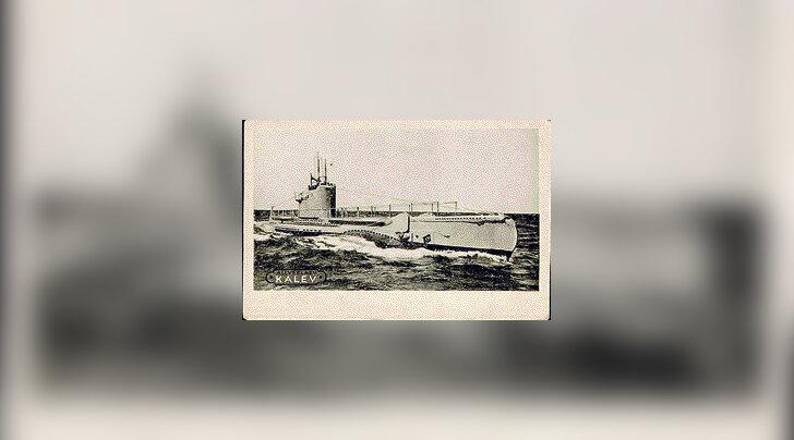 Juminda poolsaare lähedalt leiti vist allveelaeva Kalev vrakk