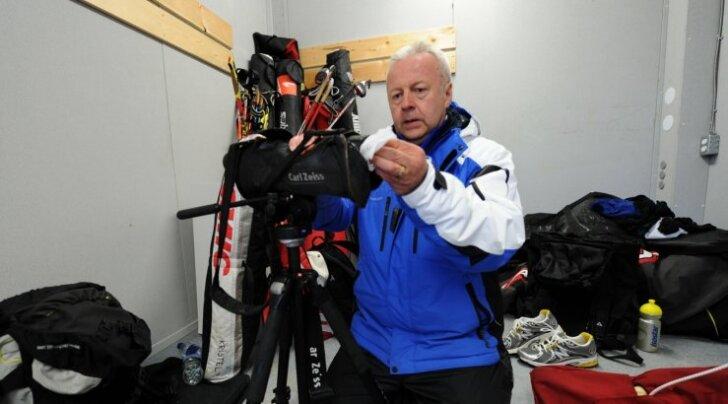 Asko Nuutinen Vancouveri olümpial (2010) Eesti koondise rüüs.