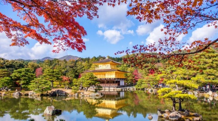 Kyoto Kuldne paviljon