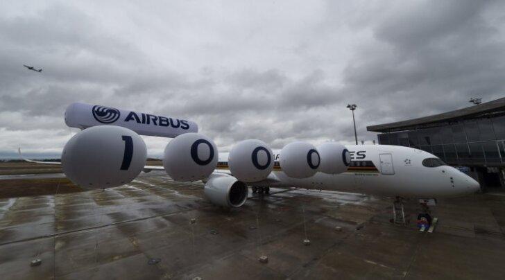 Airbusi 10 000. lennuk läheb teele Singapuri poole.