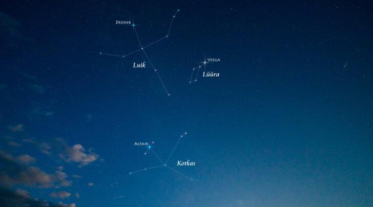 Kaugete tähtede kokkupõrge toob varsti öötaevasse uue üliereda taevakeha
