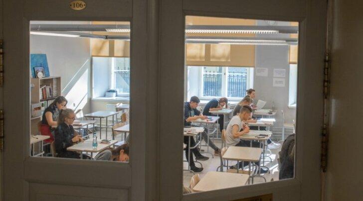 Sisseastumiseksam 10. klassi Gustav Adolfi Gümnaasiumis