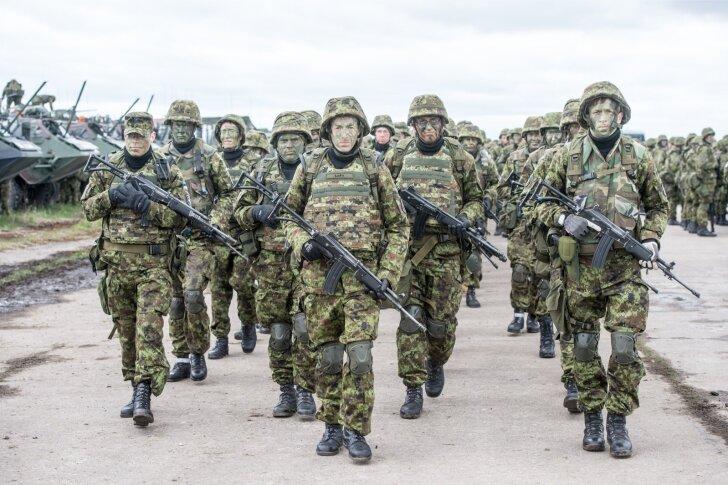 Raport ei näi arvestavat Eesti reservväega, mille kaitsevõimet mullu toimunud suurõppusel Siil harjutati.