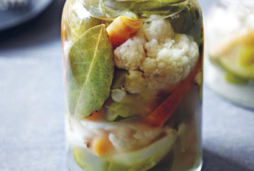 Turshiya ehk erinevad köögiviljad soolvees