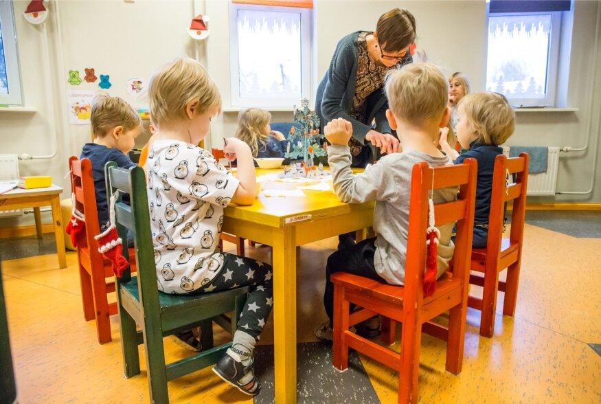 Halb toit Elva lasteaias