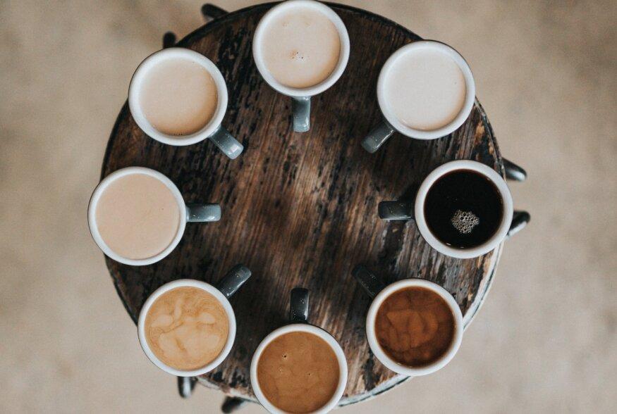 2018 kohvitrendid: superkohvist värviliste latte'deni