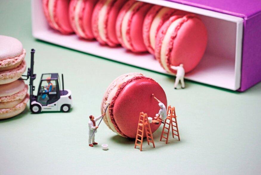 FOTOD   Mis juhtub, kui hullu toidufotograafi peas saavad kokku koogid ja filmid?