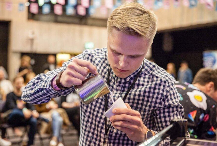 Estonian Latte Art Throwdown 2018 meistritiitel läks Lätti