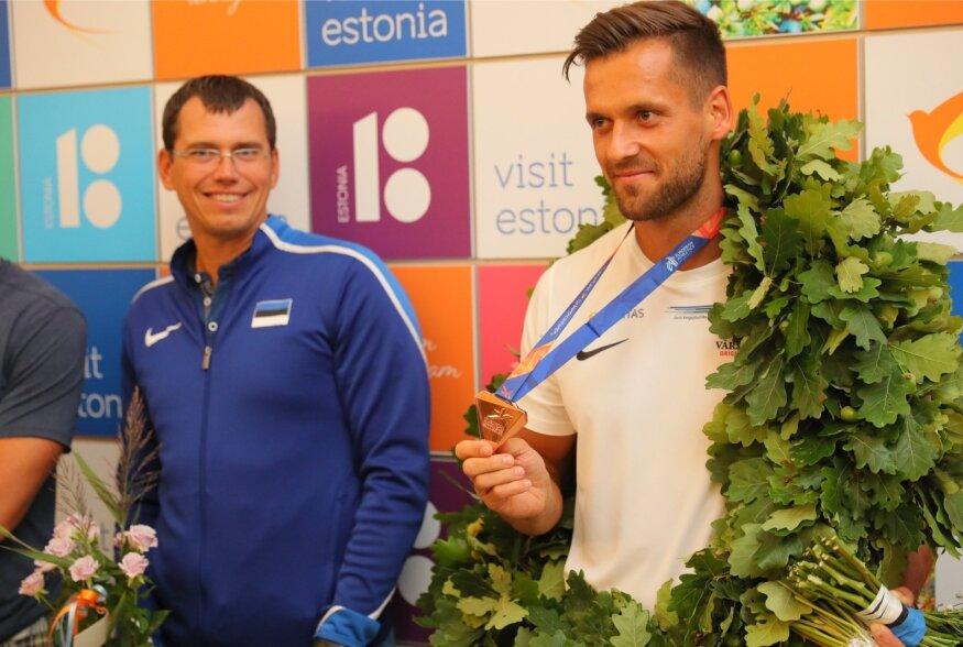 FOTOD JA VIDEO | Eesti medalisangar Magnus Kirt võeti Tallinnas pidulikult vastu