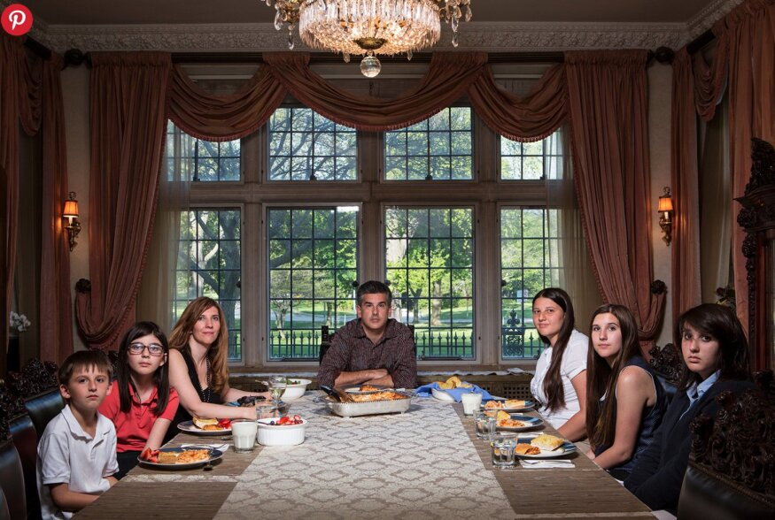 FOTOD | Piltnik näitab maailmale, millised näevad välja ameeriklaste õhtusöögitraditsioonid