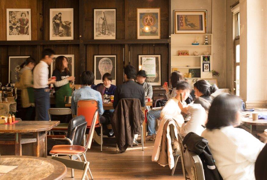 Kyoto hipsterite lemmikkohvik asub vanas koolimajas, kus igast klassiruumist on saanud kohvik, kontserdi- või kinosaal.