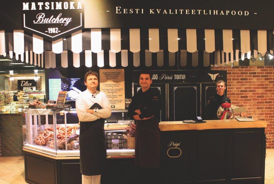 Kolm põlve lihunikke avas Tallinnas oma esimese lihapoe