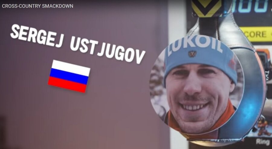 Норвежские лыжники побили боксерские груши с фотоснимками граждан России