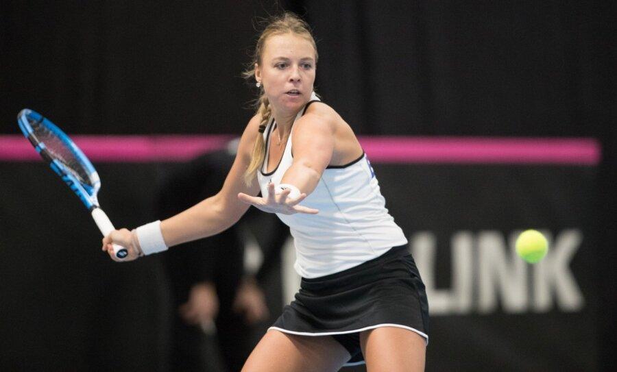 Павлюченкова проиграла Цибулковой впервом круге турнира вДохе