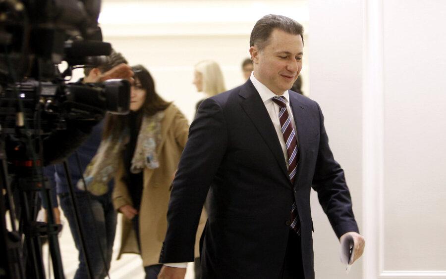 Премьер Македонии подал вотставку