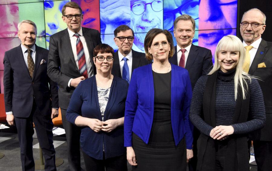ВФинляндии началось голосование навыборах президента