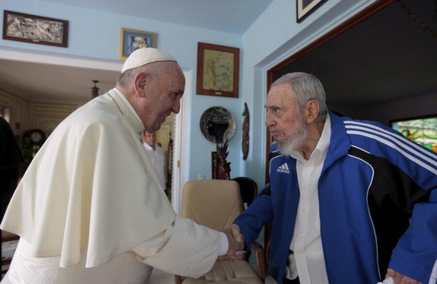 Paavst ja Fidel