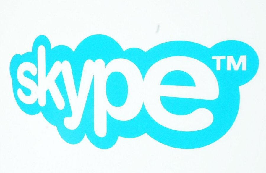 лого скайп:
