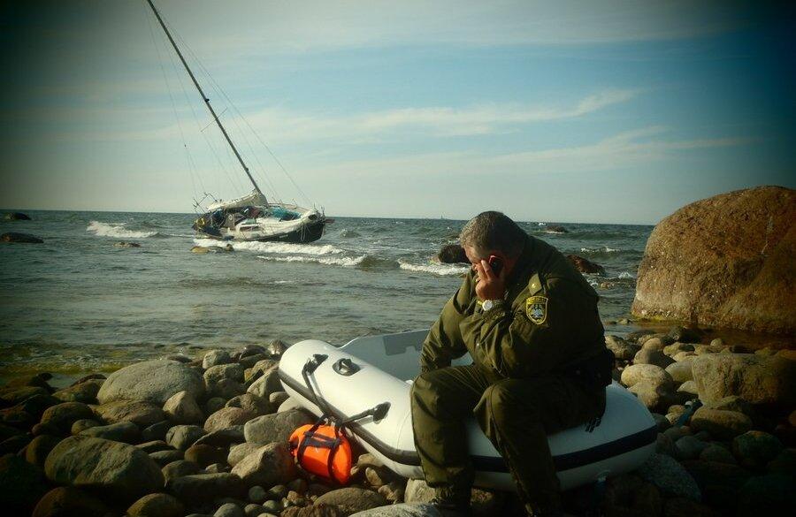 Piirivalve otsib jahiõnnetuse põhjusi FOTO: Matti Aivar Lind