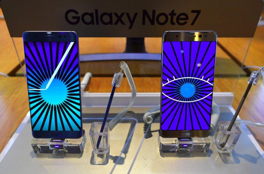 Samsung из-за Galaxy Note 7 потеряет миллиард