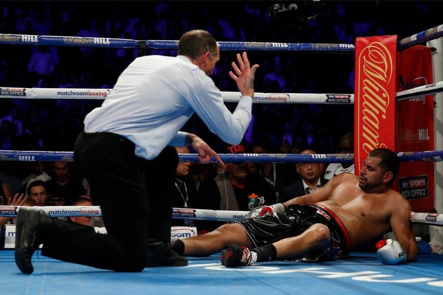 Боксер Джошуа защитил титул IBF всупертяжелом весе ивстретится сКличко