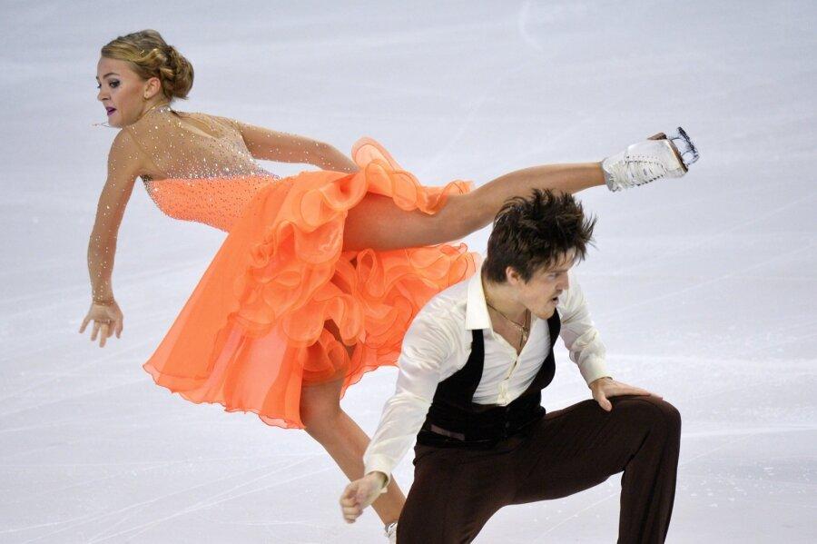 Alexandra Stepanova ja Ivan Bukin