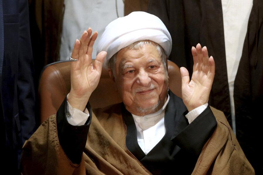 Скончался прежний президент Ирана Рафсанджани