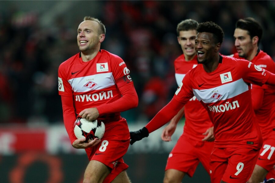 УЕФА поздравил «Спартак» спобедой вчемпионате Российской Федерации