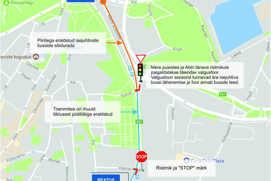VIDEO | Kaks isejuhtivat bussi jõudsid Tallinnasse, paari nädala pärast asuvad need linlasi vedama