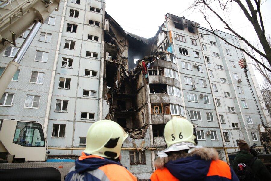 В Волгограде на месте взрыва обнаружены фрагменты тела второго погибшего