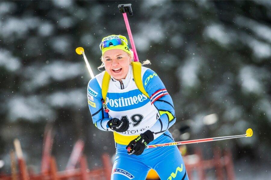Дарья Домрачева вернулась вспорт спустя всего 97 дней после родов
